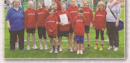 Jugend Handballerinnen holen sich den Cup (Niendorfer Wochenblatt)